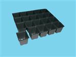 Teku Anzuchtplatte  PL 2832/20 schwarz 304 karton